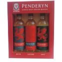 Penderyn Single Malt Whisky Triple pack (3 x 20cl)