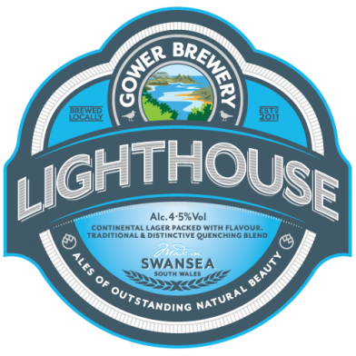 Gower Brewery Lighthouse Lager (500ml)
