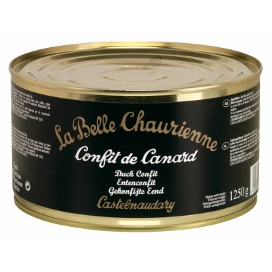 La Belle Chaurienne Confit De Canard (Duck Confit 1250g Four Portion Tin)