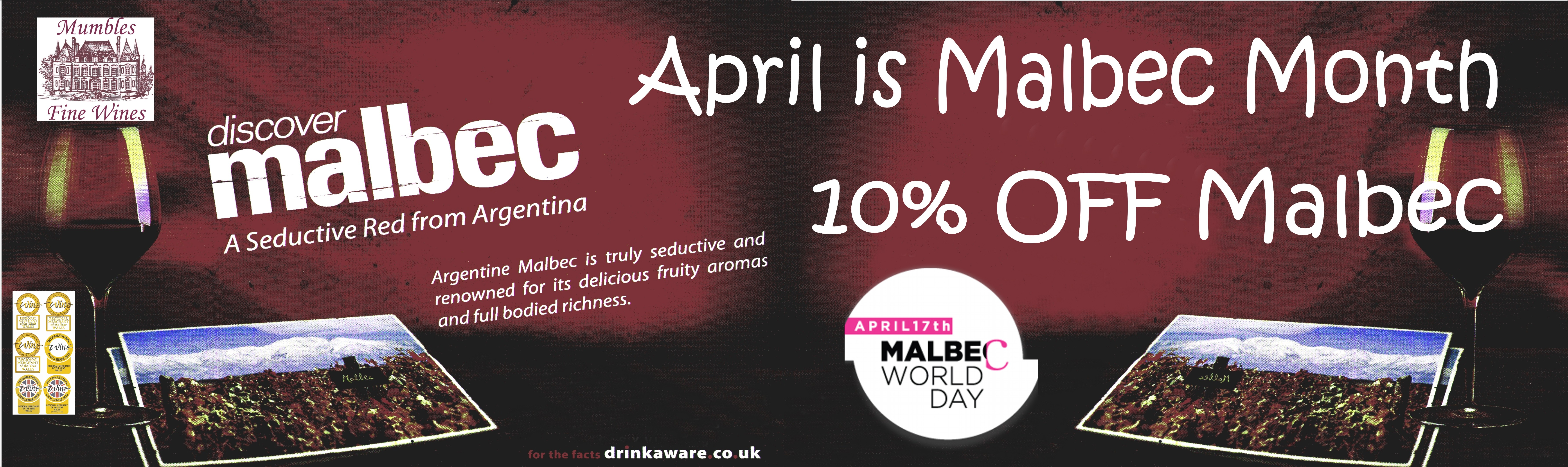 Malbec Month 10% Off