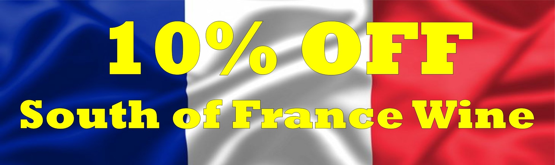 South of France - 10% Off
