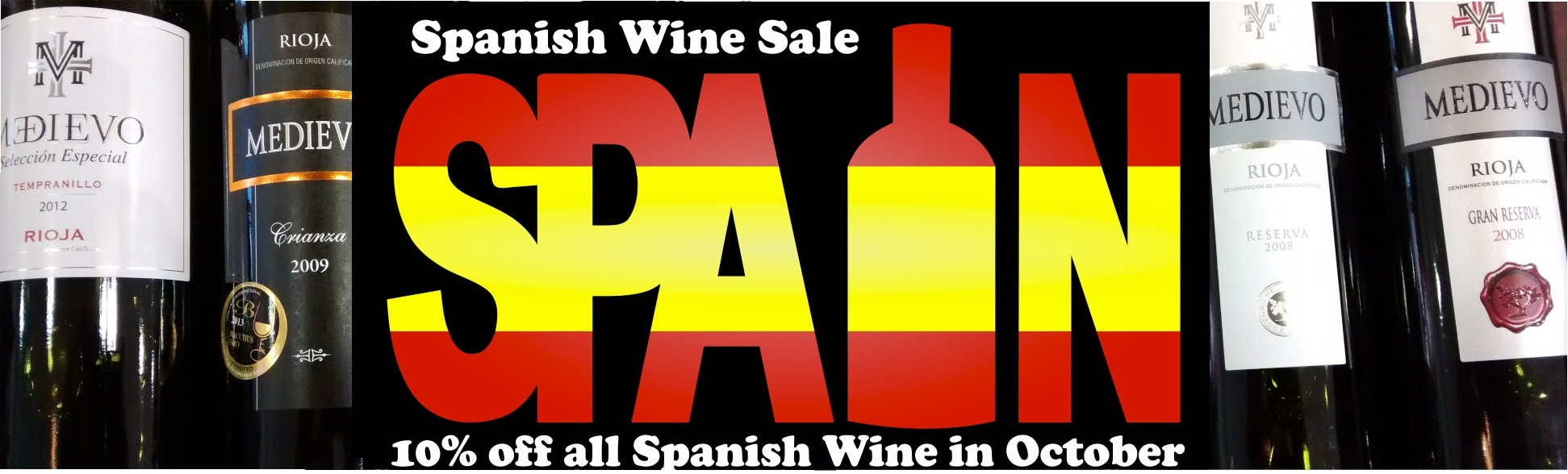 Spanish Wines - 10% Off!