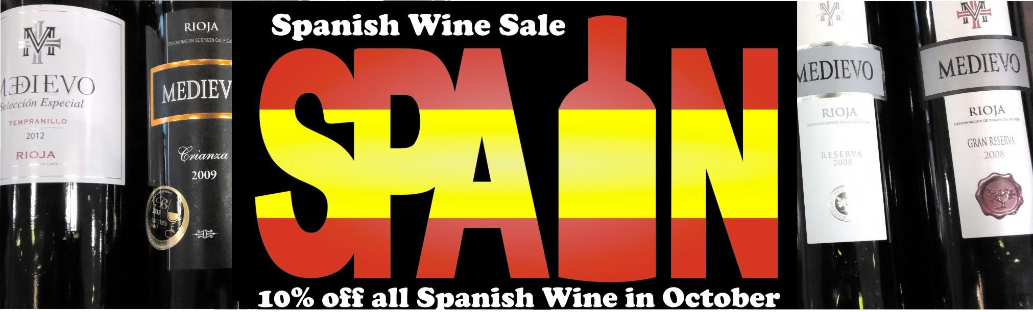 Huge Spanish Wine Sale