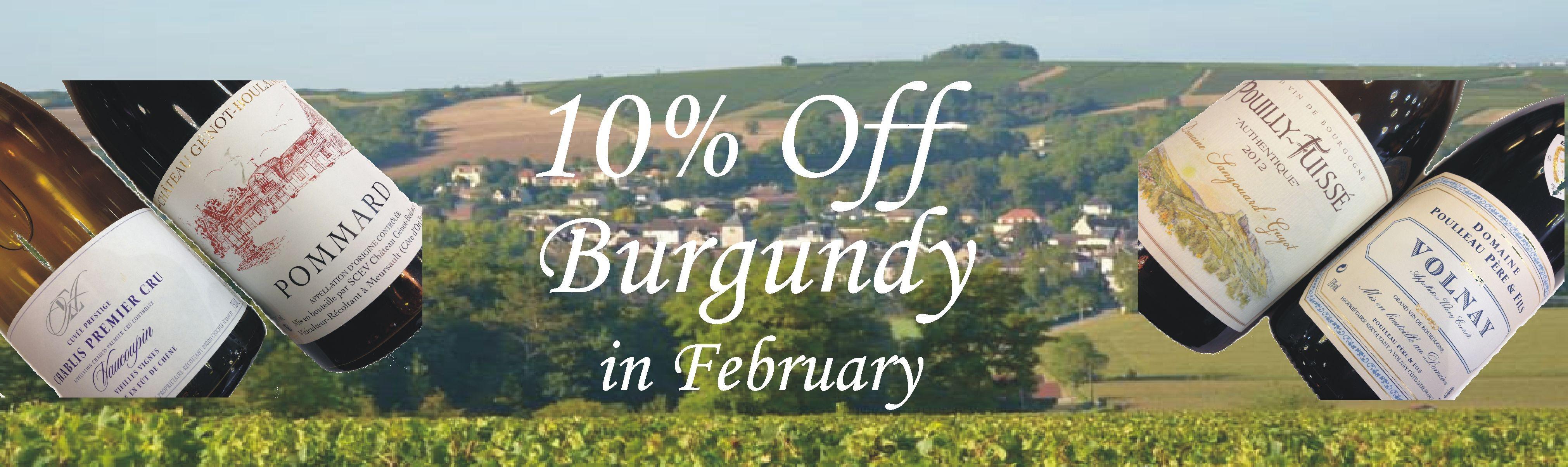 Burgundy Festival 10% OFF