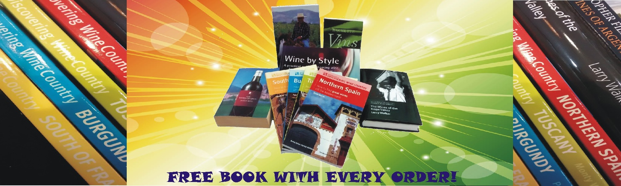 Free wine book with every order!