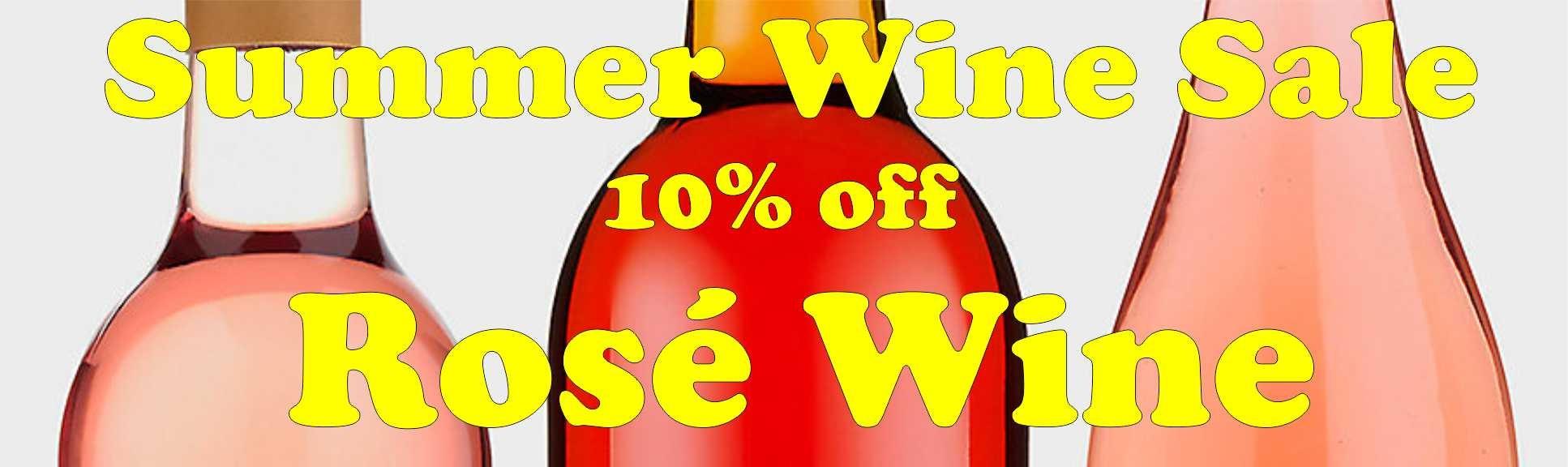 Rose Wines - 10% Off!