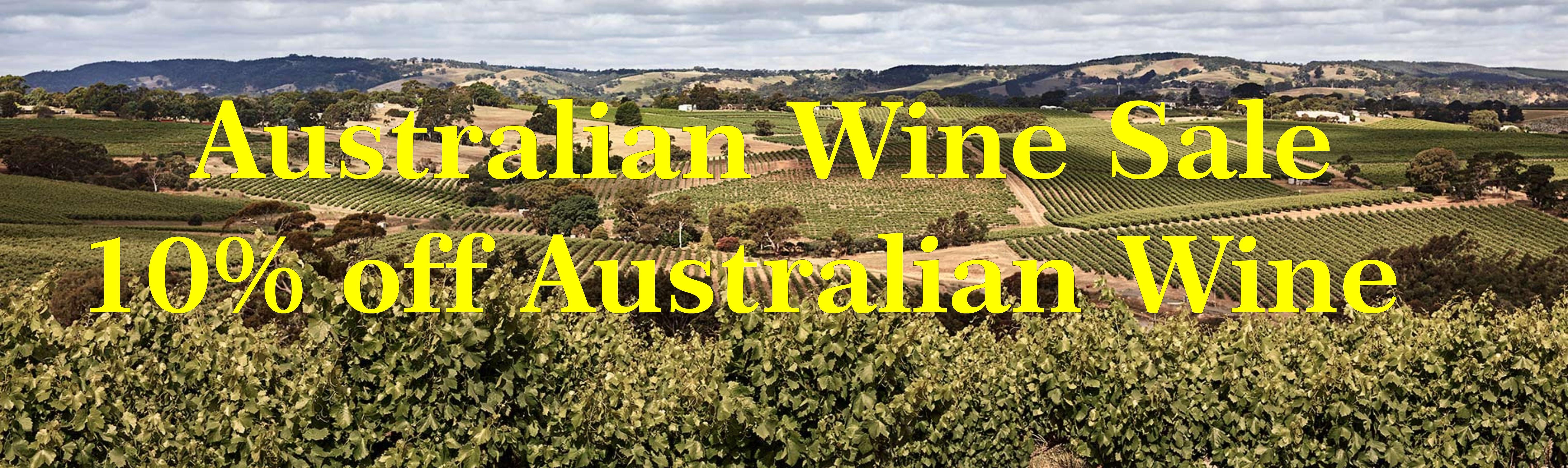 Australian Wine sale