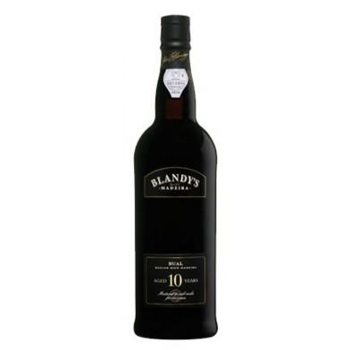 Blandy's Bual 10 Years Old Medium Rich Madeira (50cl)