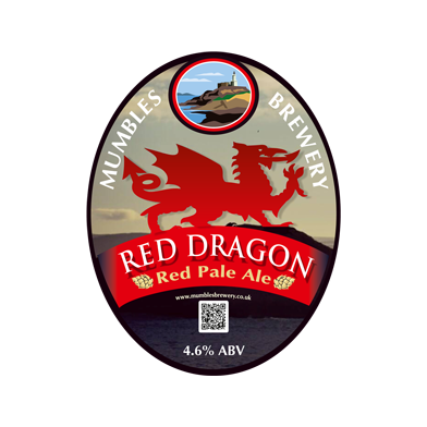 Mumbles Brewery Red Dragon (500ml)