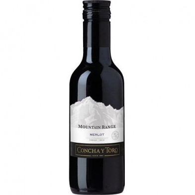 Mountain Range Merlot (2018) Mini Bottle (18.7cl)