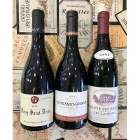 Trio of Red Burgundies from the excellent 2009 & 2015 vintages