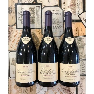 Trio of Red Burgundies from the famous house of Vougeraie