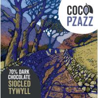 Coco Pzazz Dark Chocolate Bar (80g)