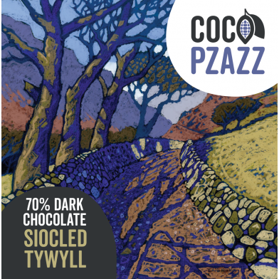 Coco Pzazz Dark Chocolate Bar (80g)
