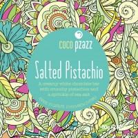 Coco Pzazz Salted Pistachio White Chocolate Bar (80g)