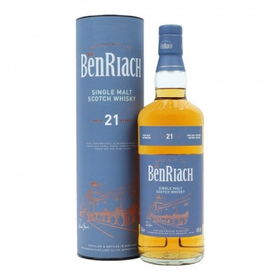BenRiach 21 Year Old Whisky (70cl)
