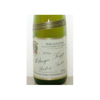 Wiltinger Kupp Riesling Auslese (1976) Bischofliches (Only 5 available)