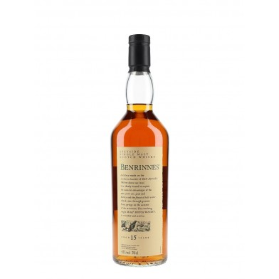 Benrinnes 15 Year Old - Flora and Fauna Whisky (70cl)