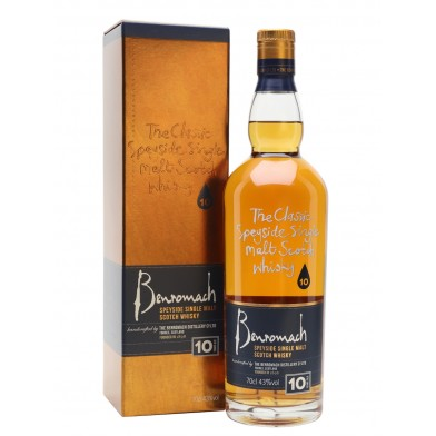 Benromach 10 Year Old Scotch Whisky (70cl)