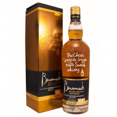 Benromach 15 Year Old Scotch Whisky (70cl)