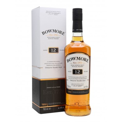 Bowmore 12 Year Old Whisky (70cl)