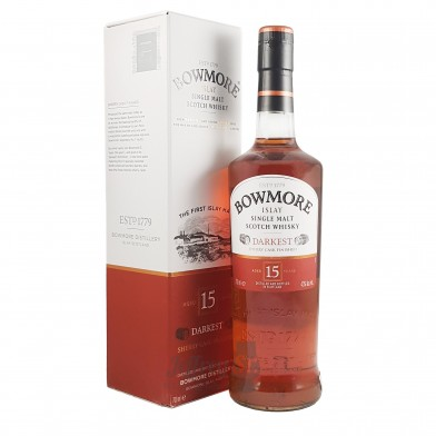 Bowmore 15 Year Old Scotch Whisky (70cl)