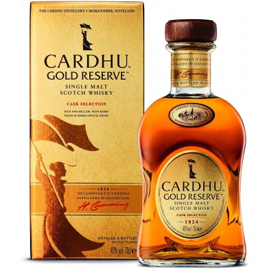 Cardhu Gold Reserve Single Malt Whisky (70cl)