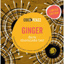Coco Pzazz Ginger Dark Chocolate Bar (80g)