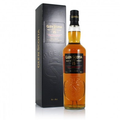 Glen Scotia 15 Year Old Whisky (70cl)