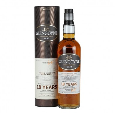 Glengoyne 18 Year Old Whisky (70cl)