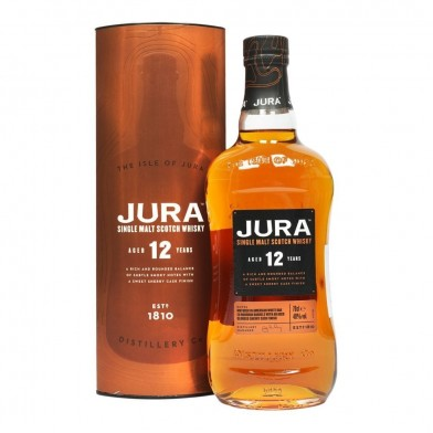 Isle of Jura 12 Year Old Whisky (70cl)