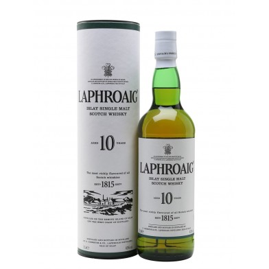 Laphroaig 10 Year Old Scotch Whisky (70cl)
