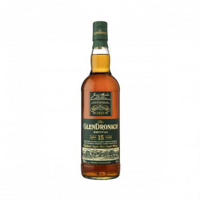 GlenDronach Revival 15 Year Old Whisky (70cl)