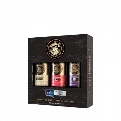 Loch Lomond Taster Pack (3 x 5cl)