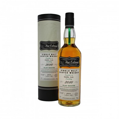 Caol Ila First Editions 2010 8 Year Old (70cl)