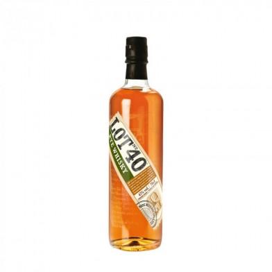 Lot 40 Single Pot Rye Canadian Whisky (70cl)