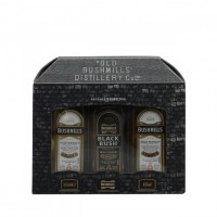 Bushmills Miniature Gift Pack Irish Whiskey (3x5cl)