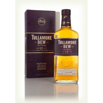 Tullamore D.E.W. 12 Year Old Irish Whiskey (70cl)