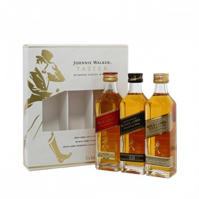 Johnnie Walker Taster Gift Set (3x5cl)