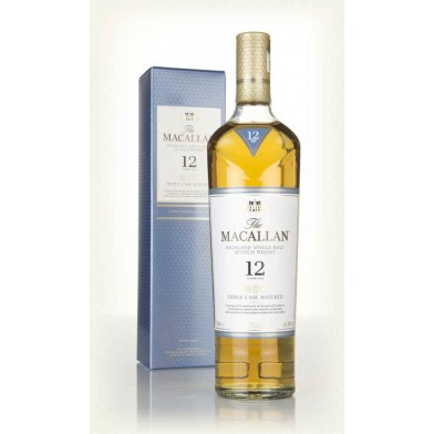 """The Macallan 12 Year Old """"Triple Cask"""" Whisky (70cl)"""