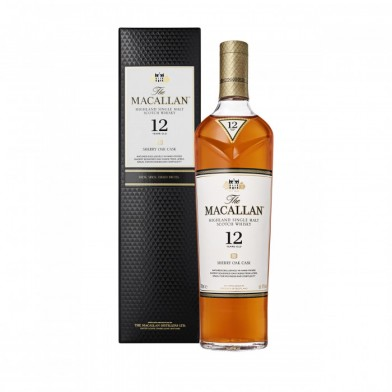 The Macallan Sherry Oak Cask Whisky (70cl)