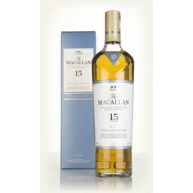 The Macallan Triple Cask 15 Year Old Whisky (70cl) (Only 1 available)