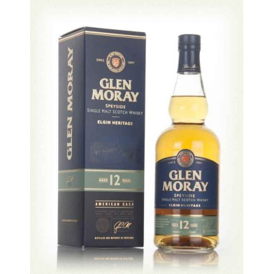 Glen Moray Elgin Heritage 12 Year Old Whisky (70cl)