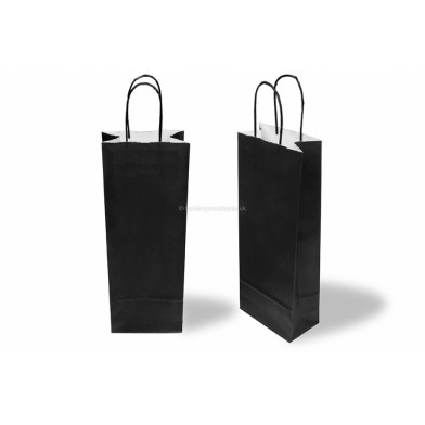 Black Wine Gift Bag