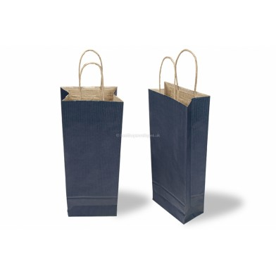 Wine Gift Bag Blue