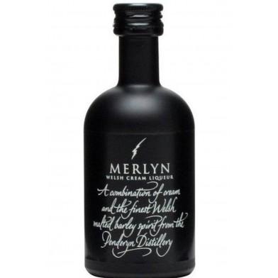 Penderyn Merlyn Whisky Cream Liqueur (5cl)