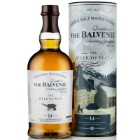 """Balvenie 14 Year Old """"Week of Peat"""" Whisky (70cl)"""