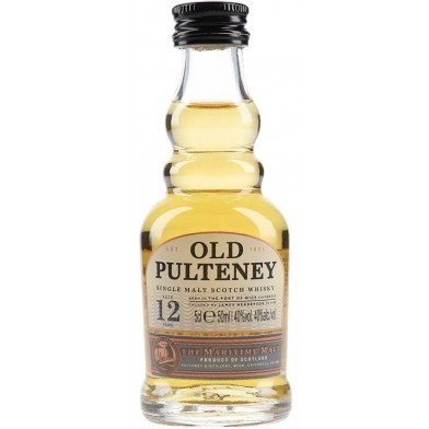 Old Pulteney 12 Year Old Whisky (5cl) Miniature