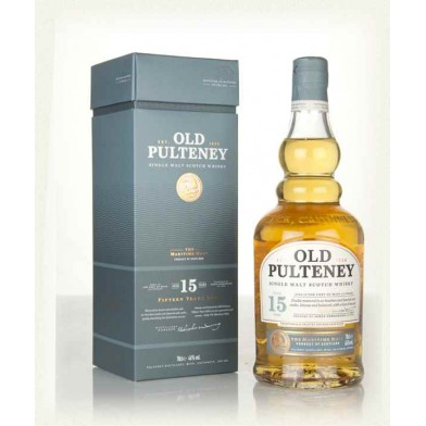 Old Pulteney 15 Year Old Whisky (70cl)