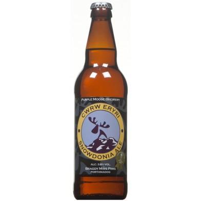 Purple Moose Cwrw Eryri/Snowdonia Ale (500ml)
